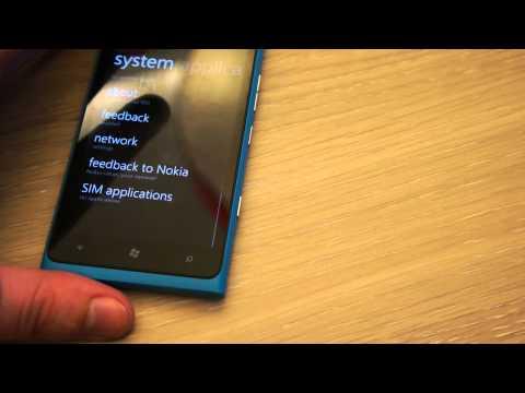 Video Shows Lumia 900 Running Windows Phone 7.8