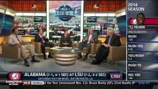 CBS Sports Network Analysts Break Down Alabama Vs. LSU