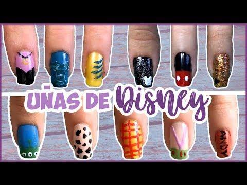 Diseños de uñas - DISEÑOS DE UÑAS DE DISNEY- Alí