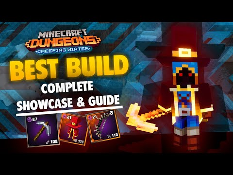 The Absolute Best Build in Minecraft Dungeons Creeping Winter - A Complete Showcase & Guide