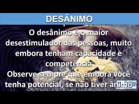 DESÂNIMO(ÁUDIO) - GOTASDEPAZ - MENSAGENS EDIFICANTES