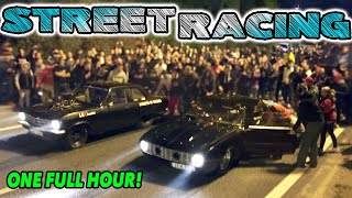 ONE HOUR of Non-Stop STREET RACING Action! by 1320Video
