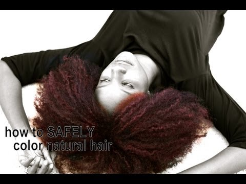 {260} SAFELY color #naturalhair w/ temporary, wash-out DIY hair dye | natural hair journey
