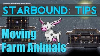 What's up guys! Today I tackle the rather odd problem of moving farm animals. Sometimes they are such a pain to get moved.