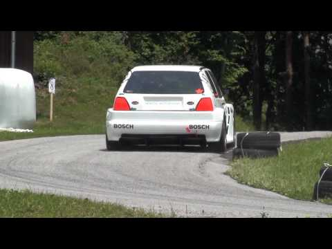 MK2 Golf Rally Hill Climb Action
