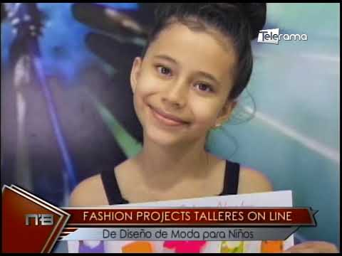 Fashion Project talleres On Line de Diseño de Moda para Niños