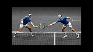 Video Federer/Nadal vs Querrey/Sock - Laver Cup 2017 Highlights (HD) MP3, 3GP, MP4, WEBM, AVI, FLV Maret 2019