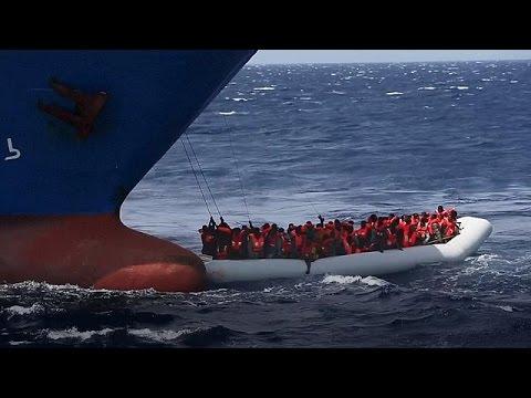 Χιλιάδες μετανάστες διασώθηκαν στη Μεσόγειο το Σαββατοκύριακο