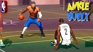 NBA 2K15 MyPark 3v3 - Bullying ANKLES @ The Park MyPlayer Skills JumpShot - Rudy ☆Crossover - #18 ...