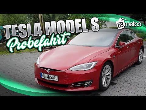 Tesla Model S 75D - Probefahrt Test Deutsch | Tesla M ...