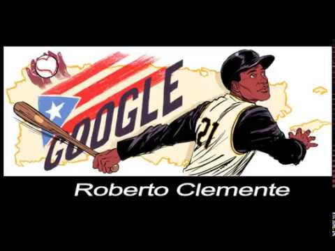 Google Doodle Celebration Roberto Clemente