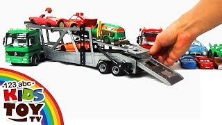 = Сar transporters Car for KIDS. TOYS = ☺123abc Kids Toy TV = Mercedes-Benz