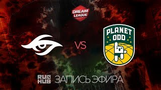 Secret vs Planet Odd, DreamLeague S.7 , game 2 [V1lat, GodHunt]