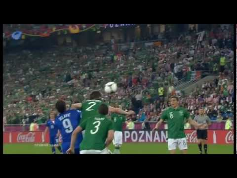 Ireland vs Croatia 1-3 Mandzukic Goal 