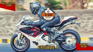 10. #100Motorcycles: Episode 4: MV Agusta F4RR & and Honda Rune