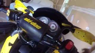 1. 2005 skidoo mxz 600 h.o sdi cold start