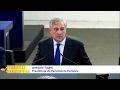 Minuto Europeu nº107 - Presidente do Parlamento Europeu