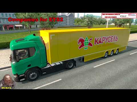 AI ETS2 Global Trailes Rckps v1.0 For 1.36.x
