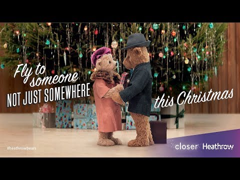 Heathrow Bears Christmas TV Advert - #HeathrowBears