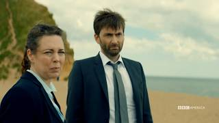 Devastating new information starts to comes to light. New episodes of Broadchurch premiere Wednesdays at 10/9c on BBC America.BBC America's highly-acclaimed series, Broadchurch, returns with a new case on Wednesday, June 28 at 10/9c. Featuring a strong, talented cast, spearheaded by recent Golden Globe®-winner Olivia Colman (The Night Manager, Fleabag) and Emmy®-winner David Tennant (Doctor Who, Jessica Jones), the third and final chapter from writer, creator and executive producer Chris Chibnall, sees the detective duo Detective Sergeant Ellie Miller (Colman) and Detective Inspector Alec Hardy (Tennant) investigate a serious sexual assault that shocks the tight-knitted seaside town to its core.Subscribe now: http://bit.ly/1aP6Fo9Twitter: http://twitter.com/bbcamericaFacebook: http://www.facebook.com/bbcamericaTumblr: http://bbcamerica.tumblr.comInstagram: http://instagram.com/bbcamericaSnapchat: http://snapchat.com/add/bbcamerica_tv