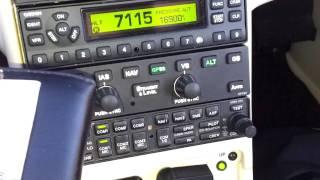 Aussicht Und Instrumente Aus 17.000 Fuß In Einer Cirrus SR22T