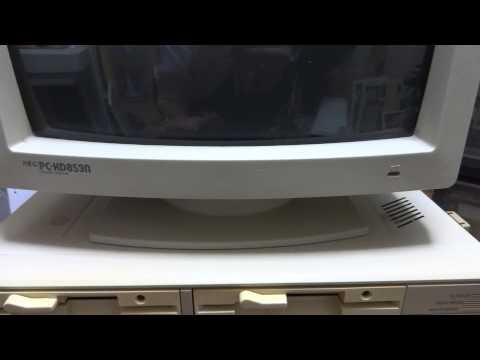 NEC PC-8801 (PC-88, PC-8801mkIISR) Hardware