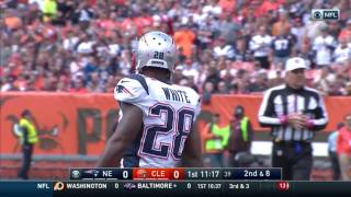 Tom Brady Leads Patriots to TD on His First Drive of the Season! | Patriots vs. Browns | NFL by NFL