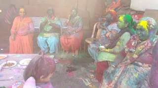 Holi Celebration at Bansal Family