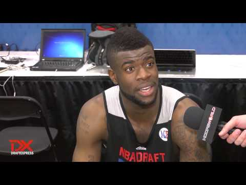 Bullock - Reggie Bullock discusses his prospects as a potential 1st round pick in the 2013 NBA Draft.