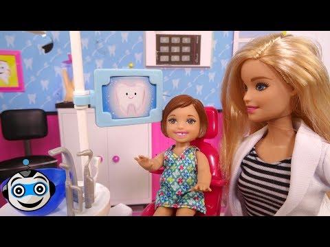 Barbie Dentista cuida de tus dientes para que estén sanos_Ön is fél a fogorvosnál? De mit csinálnak mások?