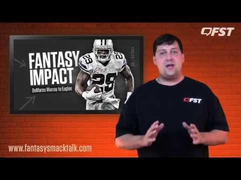 Fantasy Impact of DeMarco Murray to Philadelphia thumbnail