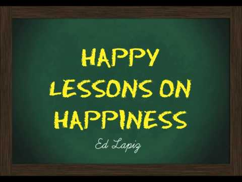 Happy Lessons On Happiness - Ed Lapiz