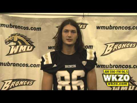 Senior wide receiver Eric Monette says he's not taking anything for granted as he steps into a leading role in the Bronco offense.