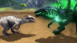 GODZILLA VS INDOMINUS REX!!! - ARK Survival Evolved Modded