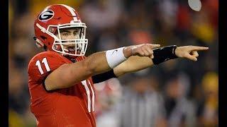 Jake Fromm Freshman Highlights   Georgia Football 2017/18 Highlights