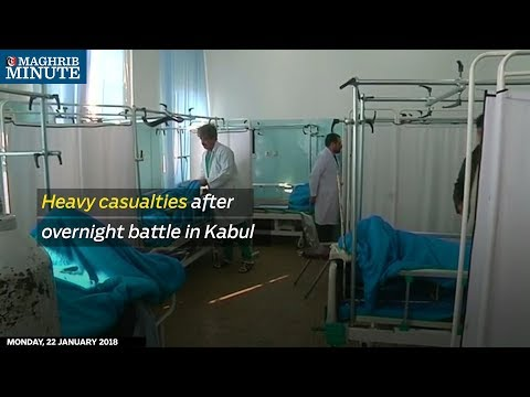 Heavy casualties after overnight battle in Kabul