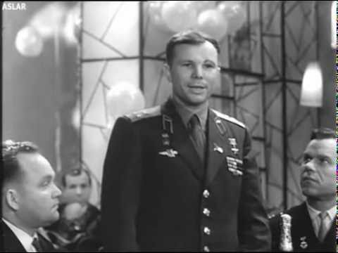 Юрий Алексеевич Гагарин - Новогодний тост, 1963 г.
