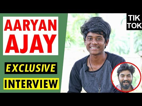TikTok Aaryan Ajay Exclusive Interview || Social Media Award Winner Aaryan Ajay ||  TELUGU WALLET