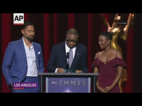 'Handmaid''s actress learns of Emmy nod while announcing nominees