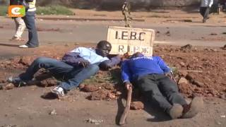 Kisumu Kenya  City new picture : One dead, several injured as police clash with protesters in Kisumu