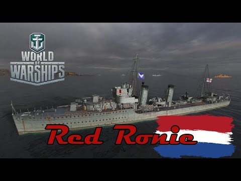 World of Warships - Red Ronie видео