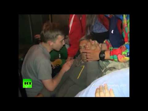 DRAMATIC: Last moments of Russian TV cameraman shot by Kiev forces (GRAPHIC)