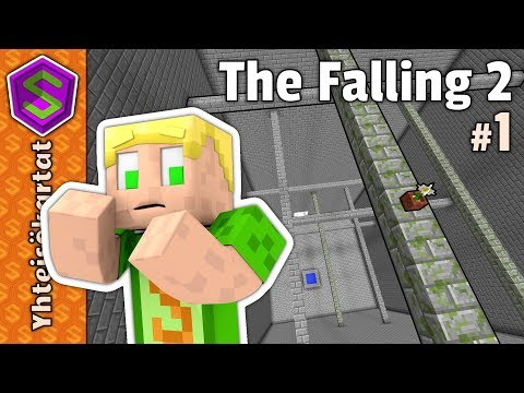 Luulin tätä helpoksi! | Minecraft The Falling 2 #1