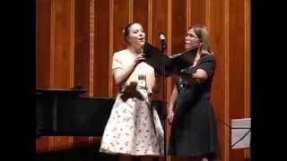 Colleen Smirl & Jana Vorvick: Milder Musical Arts 35th Anniversary Concert