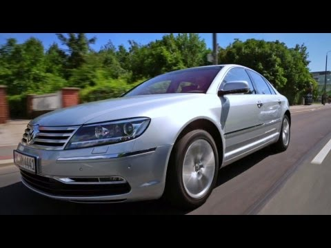 Volkswagen Phaeton Тест-драйв Volkswagen Phaeton 3,0 TDI 2013 // АвтоВести 113