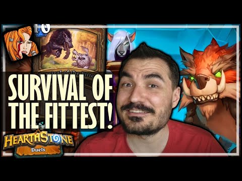 TRULY, SURVIVAL OF THE FITTEST! - Hearthstone Duels