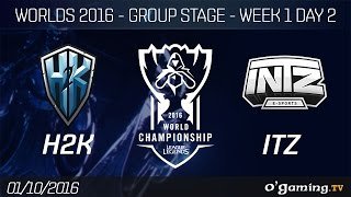 H2K vs ITZ - World Championship 2016 - Group Stage Week 1 Day 2