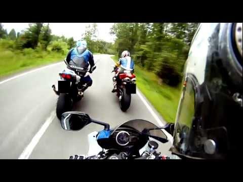Bad Company  #1 - AUDI R8 V8 vs GSX-R 1000 K9