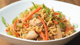 One-Pot Chicken Chow Mein by Tasty