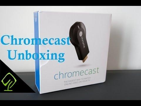 Unboxing of Google Chromecast